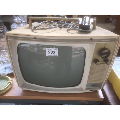 228 - Vintage TV...