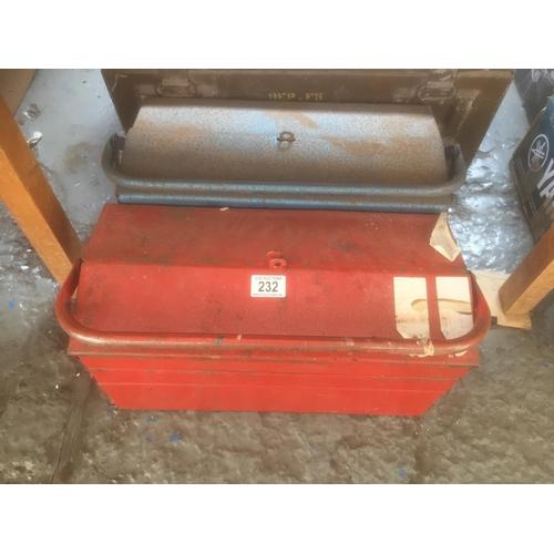 232 - 2 x Metal Tool Boxes...