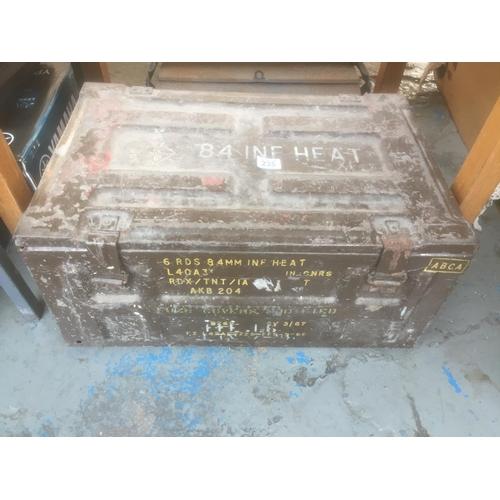 235 - Large Metal Ammunition Box...
