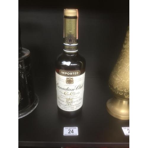 24 - Canadian Club Whisky - Sealed Bottle...