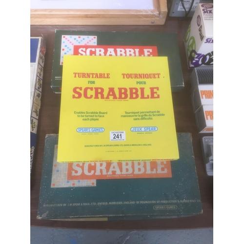 241 - Vintage Scrabble Games...