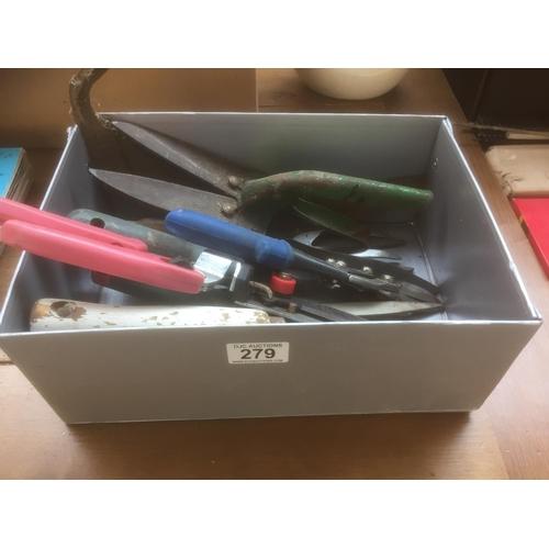 279 - Box of Gardening Tools...