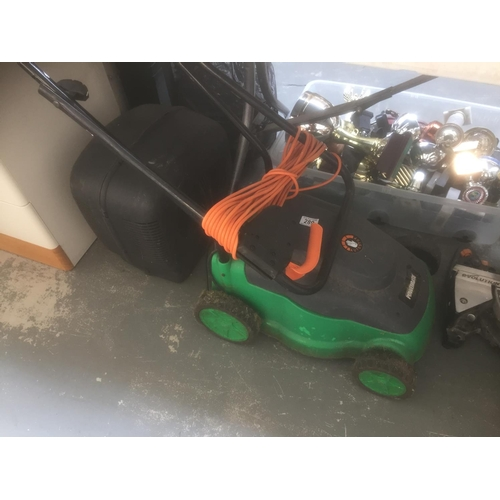 289 - Powerbase Electric Lawnmower...