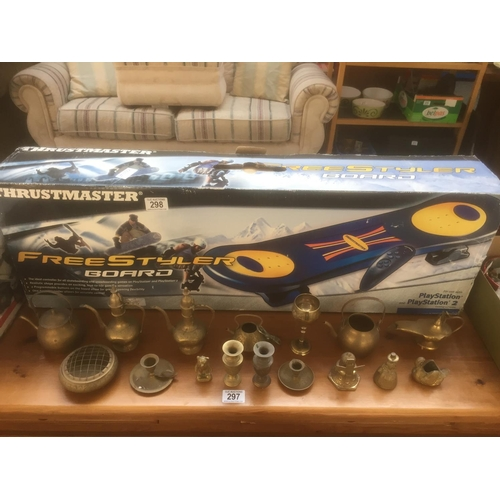 298 - PlayStation Freestyler Board - Boxed...
