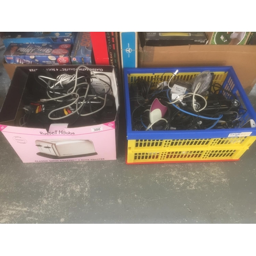300 - 2 x Boxes of Cables/Leads...