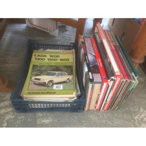 303 - Quantity of Car Manuals, etc...
