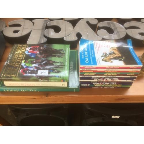 311 - Quantity of Horse Riding Books...