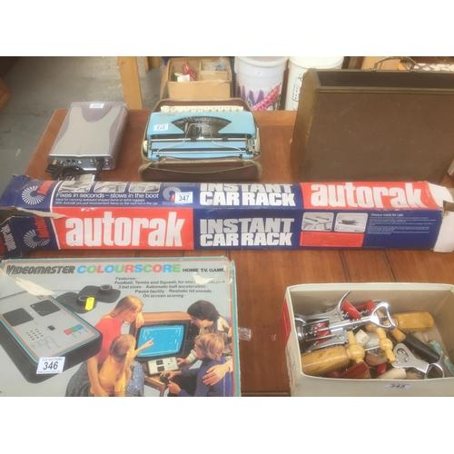 347 - Vintage Autotrak Car Rack - Boxed...