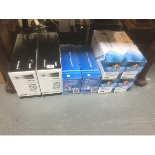 348 - 8 x Ink Toners - New in Boxes...