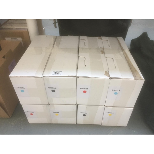 352 - 8 x Ink Toners - New in Boxes...