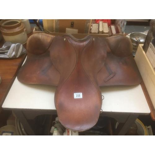 358 - Horse Saddle...