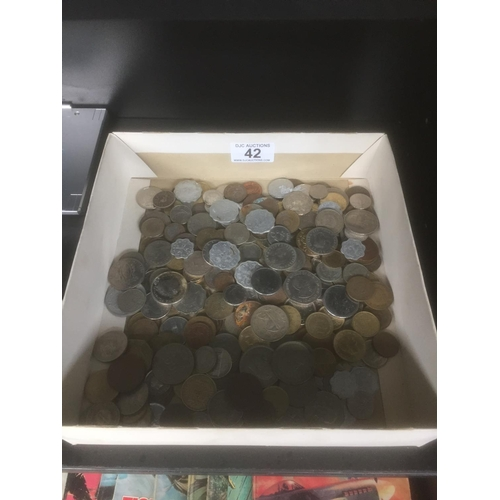 42 - Box of Coins...