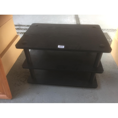 423 - Black Ash Tv Stand...