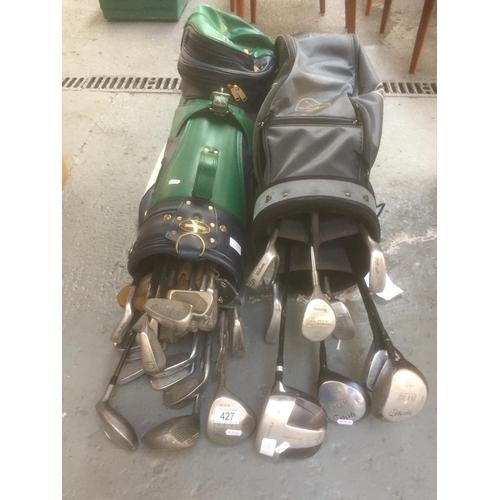 427 - 2 x Golf Clubs...