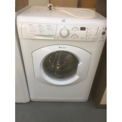 455 - Hotpoint Washing Machine...