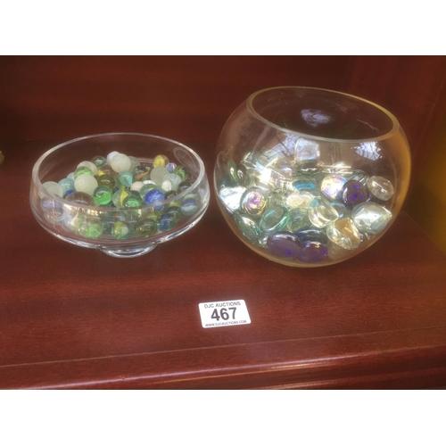 467 - Quantity of Marbles, etc...