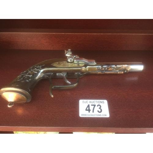 473 - Flintlock Gun Lighter...