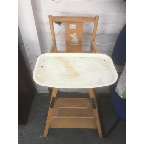 485 - Vintage High Chair...