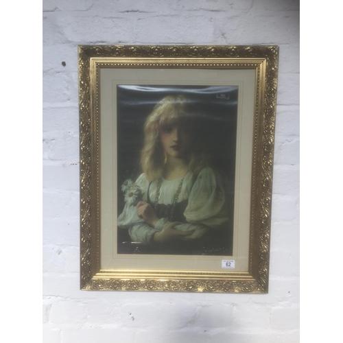 62 - Gilt Framed Print...