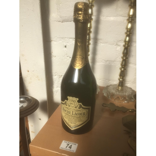 74 - Rare 1990 Roche Lacour - Sealed Bottle...