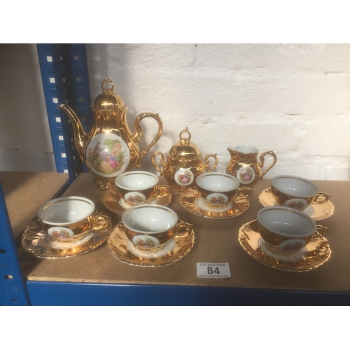 84 - Bondware Tea Set...