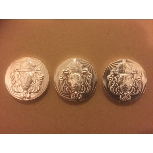 713 - 3 x 2oz Scottsdale .999 Silver Stackers...