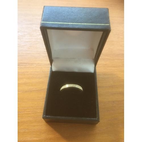 740 - Silver Eternity Ring...