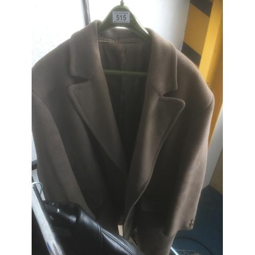 515 - Vintage Overcoat - Size 42R...