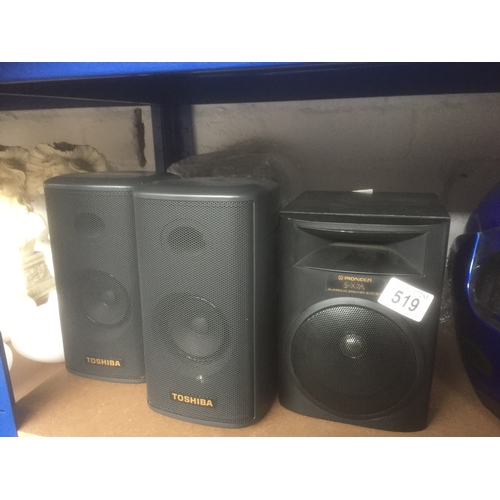 519 - Quantity of Speakers...