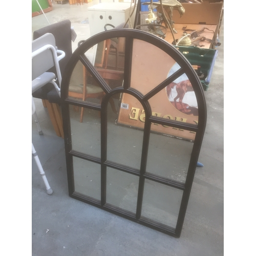 569 - Large Window Mirror...
