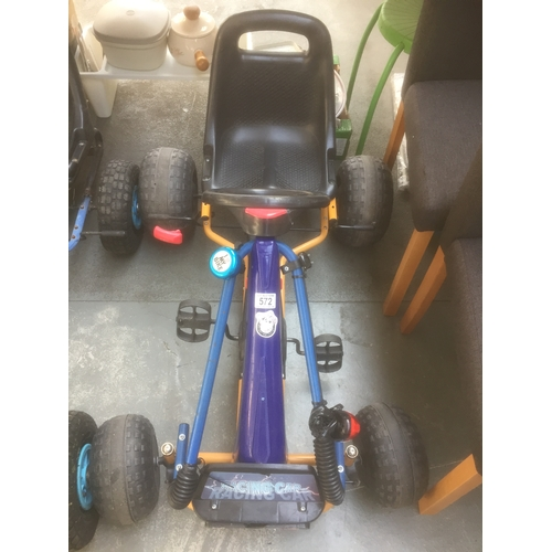 572 - Childs Pedal Cart...