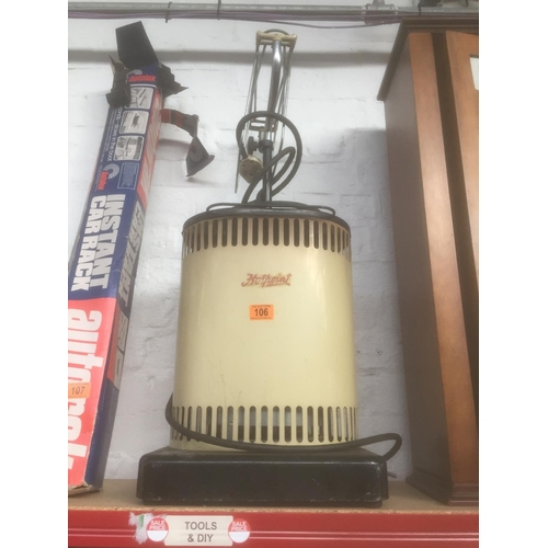 106 - 1950's Hotpoint Clothes Dryer...
