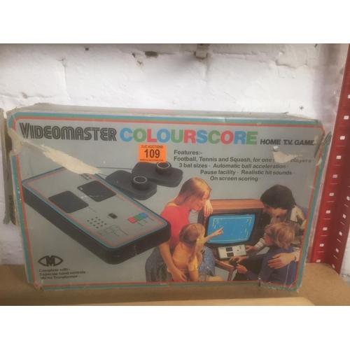 109 - Vintage Videomaster Computer...