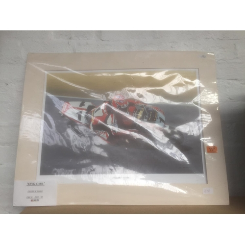 117 - Carl Fogarty Large Print - New...