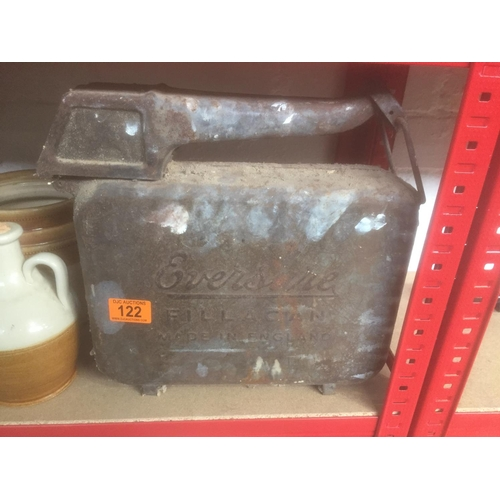 122 - Vintage Eversure Petrol Can...