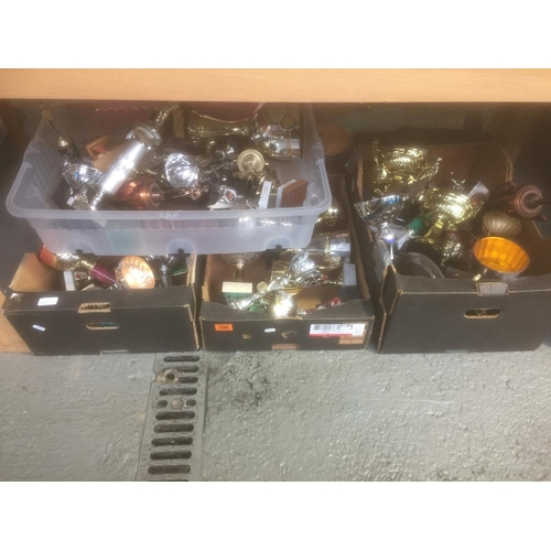 198 - 4 x Boxes of Trophies...