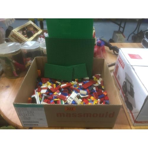223 - Box of Lego...