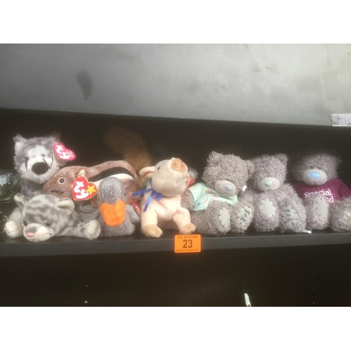 23 - Quantity of Me To You & TY Soft Toys...