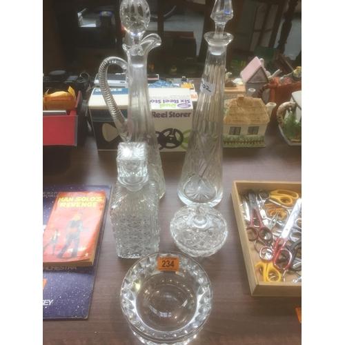 234 - Quantity of Glassware...