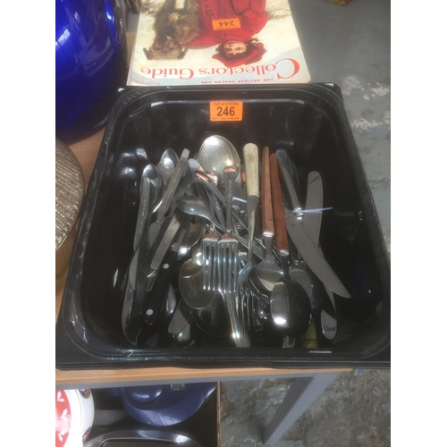 246 - Box of Cutlery...
