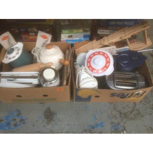 248 - 2 x Boxes of Kitchenware...