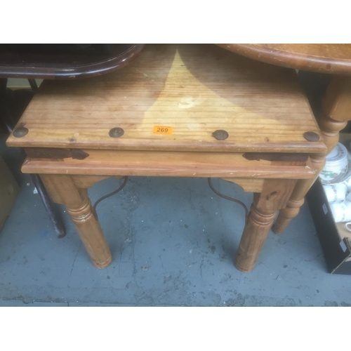 269 - Pine Table...