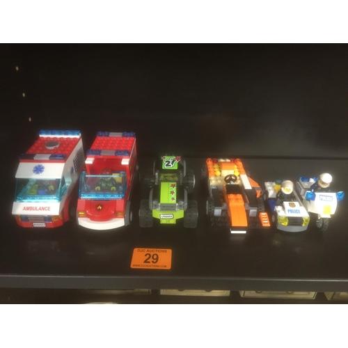 29 - Quantity of Lego Figures/Vehicles...