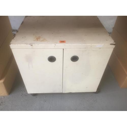 296 - Metal Storage Cupboard...