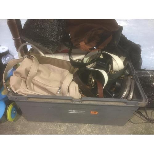 343 - Large Box of Handbags - some new...