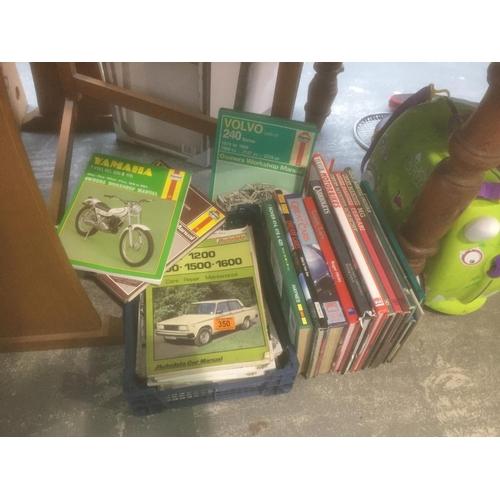 350 - Quantity of Car Manuals, etc...