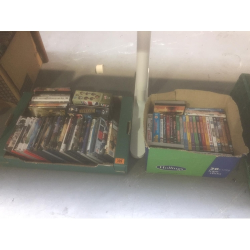 399 - 2 x Boxes of DVD's...