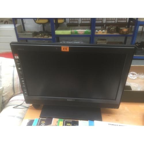 410 - Sony LCD TV...