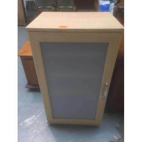 418 - Beech Storage Cupboard...