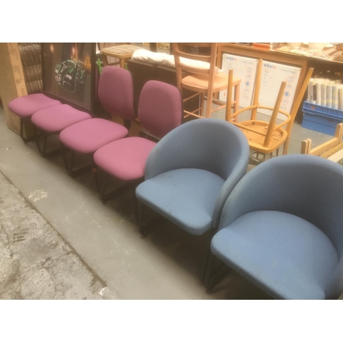 421 - 6 x Office Chairs...